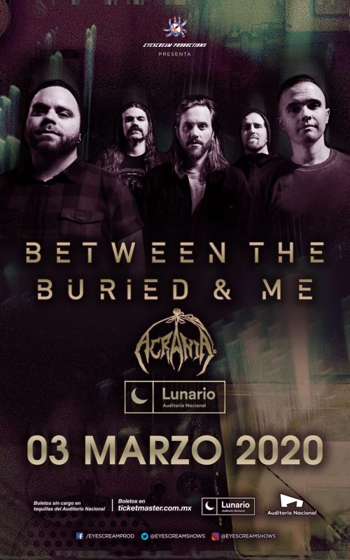 Between The Buried And Me & Acrania
